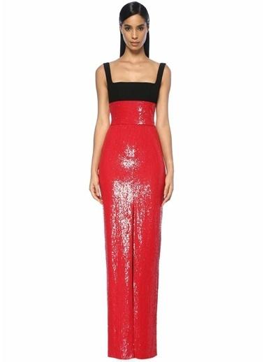 Rosaria Elbise Kırmızı